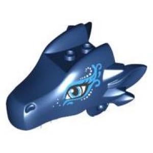 drakenhoofd bovenkaak dark blue