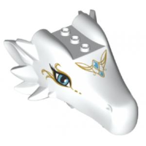 drakenhoofd bovenkaak white