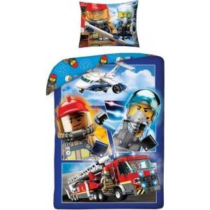 Lego City Dekbedovertrek met Brandweerwagen