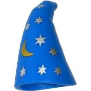 tovenaarshoed met sterren blue