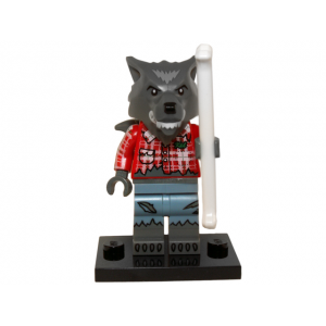 Wolf Guy, Series 14 (Complete Set with Stand and Accessories)