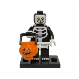 Skeleton Guy, Series 14 (Complete Set with Stand and Accessories)