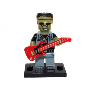 Monster Rocker, Series 14 (Complete Set with Stand and Accessories)