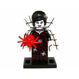 Spider Lady, Series 14 (Complete Set with Stand and Accessories)
