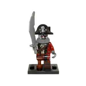 Zombie Pirate, Series 14 (Complete Set with Stand and Accessories)