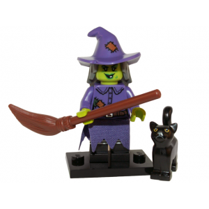 Wacky Witch, Series 14 (Complete Set with Stand and Accessories)
