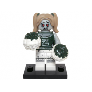 Zombie Cheerleader, Series 14 (Complete Set with Stand and Accessories)