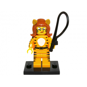 Tiger Woman, Series 14 (Complete Set with Stand and Accessories)