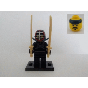 Kendo Fighter, Series 15 (Complete Set with Stand and Accessories)