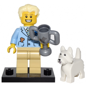 Dog Show Winner, Series 16 (Complete Set with Stand and Accessories)
