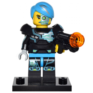 Cyborg, Series 16 (Complete Set with Stand and Accessories)