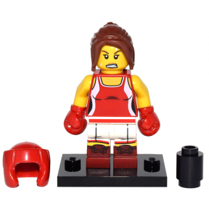 Kickboxer, Series 16 (Complete Set with Stand and Accessories)