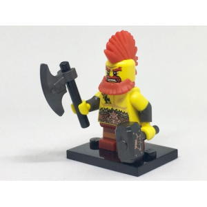 Battle Dwarf, Series 17 (Complete Set with Stand and Accessories)