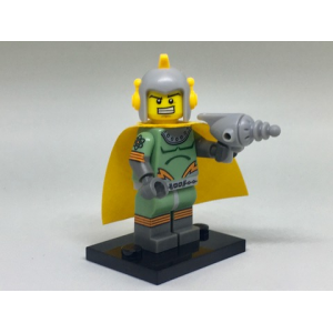 Retro Space Hero, Series 17 (Complete Set with Stand and Accessories)
