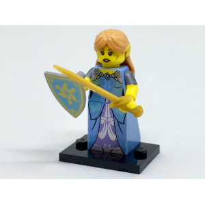 Elf Maiden, Series 17 (Complete Set with Stand and Accessories)