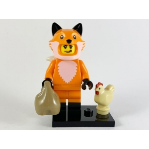 Fox Costume Girl, Series 19 (Complete Set with Stand and Accessories)