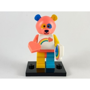 Bear Costume Guy, Series 19 (Complete Set with Stand and Accessories)