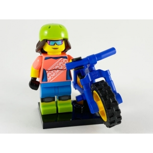 Mountain Biker, Series 19 (Complete Set with Stand and Accessories)