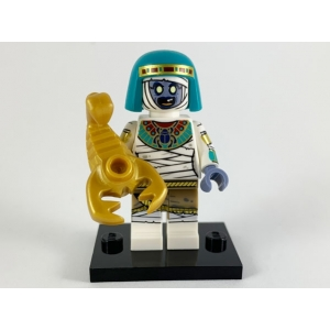 Mummy Queen, Series 19 (Complete Set with Stand and Accessories)