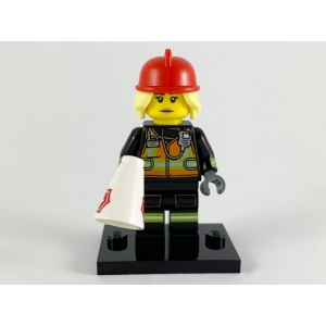 Fire Fighter, Series 19 (Complete Set with Stand and Accessories)