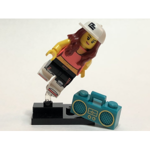 Breakdancer, Series 20 (Complete Set with Stand and Accessories)