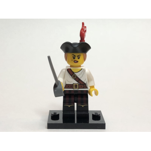 Pirate Girl, Series 20 (Complete Set with Stand and Accessories)