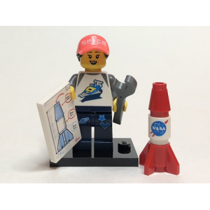 Space Fan, Series 20 (Complete Set with Stand and Accessories)
