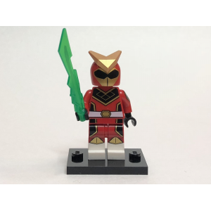 Super Warrior, Series 20 (Complete Set with Stand and Accessories)