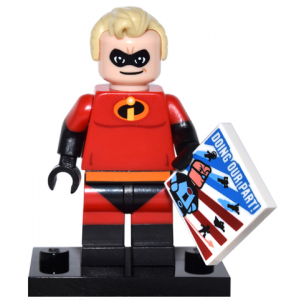 Mr. Incredible, Disney (Complete Set with Stand and Accessories)