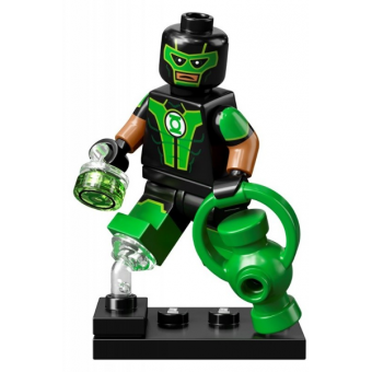 Green Lantern, Simon Baz (Complete Set with Stand and Accessories)