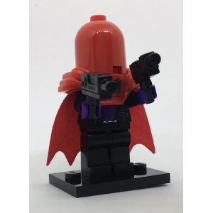 Red Hood, The LEGO Batman Movie, Series 1 (Complete Set with Stand and Accessories)