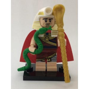 King Tut, The LEGO Batman Movie, Series 1 (Complete Set with Stand and Accessories)