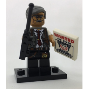 Commissioner Gordon, The LEGO Batman Movie, Series 1 (Complete Set with Stand and Accessories)