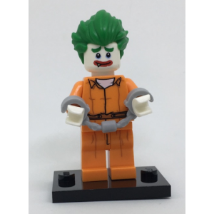 The Joker - Arkham Asylum, The LEGO Batman Movie, Series 1 (Complete Set with Stand and Accessories)