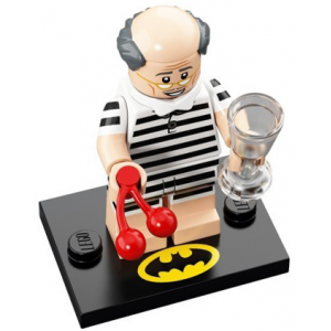 Vacation Alfred Pennyworth, The LEGO Batman Movie, Series 2 (Complete Set with Stand and Accessories)