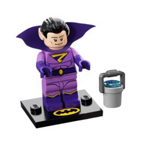 Wonder Twin Zan, The LEGO Batman Movie, Series 2 (Complete Set with Stand and Accessories)