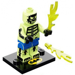 Doctor Phosphorus, The LEGO Batman Movie, Series 2 (Complete Set with Stand and Accessories)