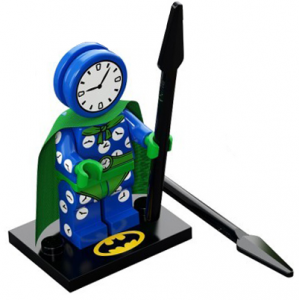 Clock King, The LEGO Batman Movie, Series 2 (Complete Set with Stand and Accessories)