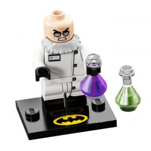 Hugo Strange, The LEGO Batman Movie, Series 2 (Complete Set with Stand and Accessories)