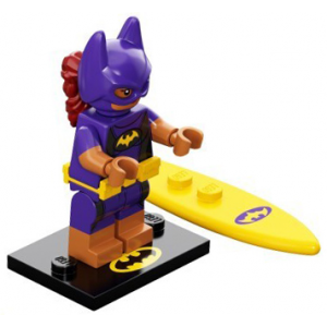 Vacation Batgirl, The LEGO Batman Movie, Series 2 (Complete Set with Stand and Accessories)