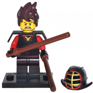 Kai Kendo, The LEGO Ninjago Movie (Complete Set with Stand and Accessories)