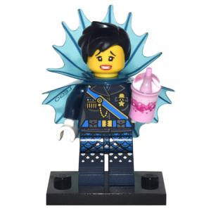 Shark Army General #1, The LEGO Ninjago Movie (Complete Set with Stand and Accessories)