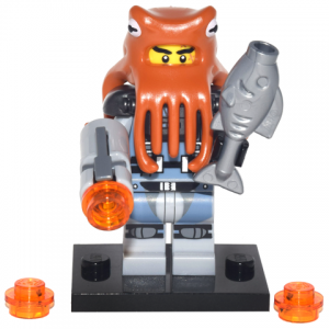 Shark Army Octopus, The LEGO Ninjago Movie (Complete Set with Stand and Accessories)