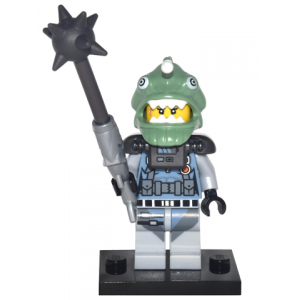 Shark Army Angler, The LEGO Ninjago Movie (Complete Set with Stand and Accessories)