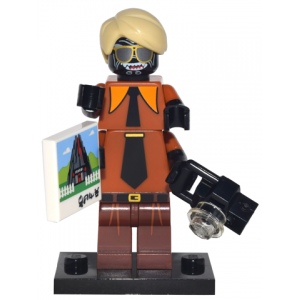 Flashback Garmadon, The LEGO Ninjago Movie (Complete Set with Stand and Accessories)
