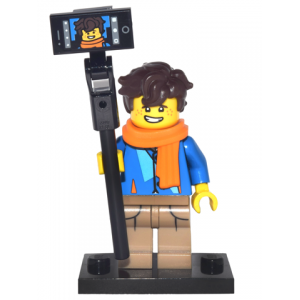Jay Walker, The LEGO Ninjago Movie (Complete Set with Stand and Accessories)