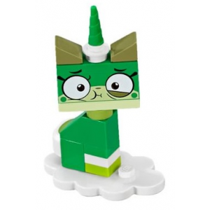 Queasy Unikitty, Unikitty!, Series 1 (Complete Set with Stand)