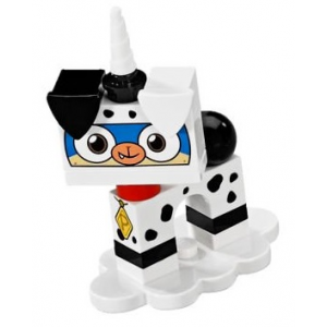 Dalmatian Puppycorn, Unikitty!, Series 1 (Complete Set with Stand)