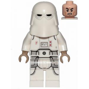 Snowtrooper, Printed Legs, Dark Tan Hands