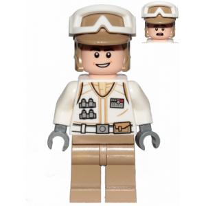 Hoth Rebel Trooper met open mond lachend